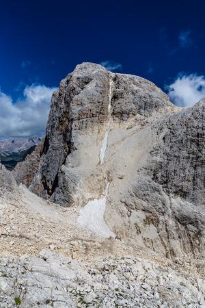 Peak Of Cima Vezzana - Dolomites, Italy, Europe