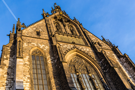 Front Side Of Cathedral of St Peter and Paul - Brno, Moravia, Czech Republic, Europe