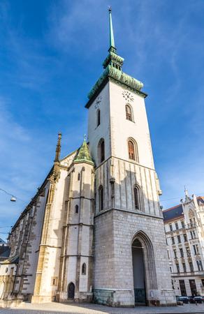 moravia: Saint James Church - Brno, Moravia, Czech Republic, Europe Stock Photo