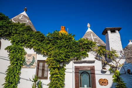 Front Side Of Trulli Houses - Alberobello, Apulia Region, Italy, Europe