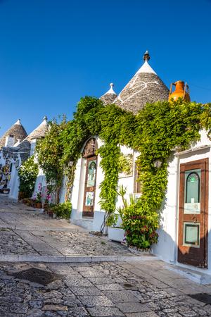 Beautiful Town Of Alberobello With Trulli Houses - Apulia Region, Italy, Europe