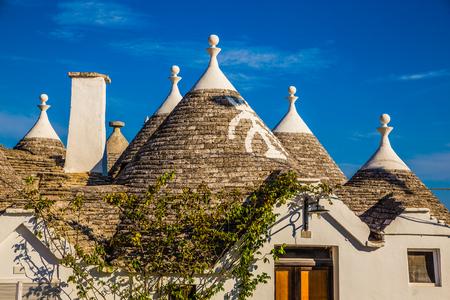 Roof Of Trulli Houses - Alberobello, Apulia Region, Italy, Europe