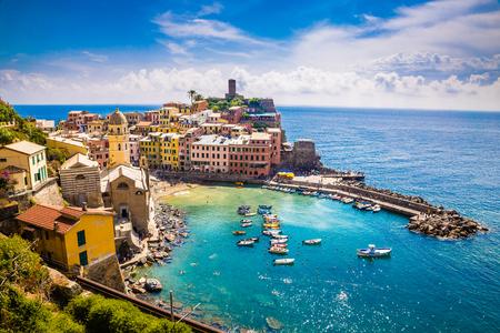 Vernazza - Cinque Terre, La Spezia Province, Liguria Region, Italy, Europe의 놀라운 전망