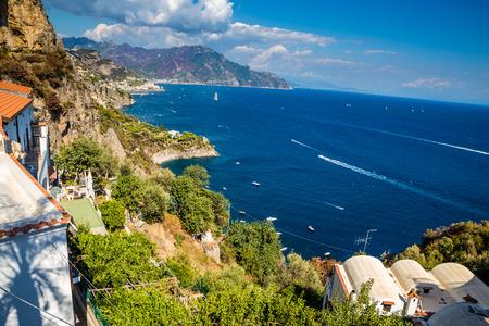 Amazing Scenery Of Amalfi Coast - Salerno Province, Campania Region, Italy, Europe