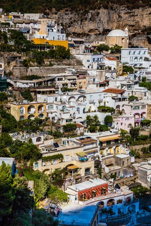 Positano - Amalfi Coast, Salerno Province, Campania Region, Italy, Europe