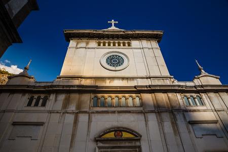 Church of Santa Maria Assunta - Amalfi Coast, Salerno Province, Campania Region, Italy, Europe Stock Photo