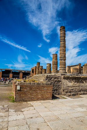 Ruins of Pompeii - Pompei, Province of Naples, Campania, Italy, Europe