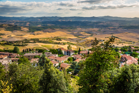Tuscan Rural Landscape Around Volterra - Tuscany, Italy, Europe
