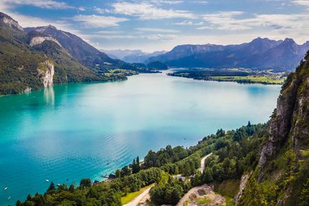 Lake Wolfgang (Wolfgangsee) - Salzkammergut, Salzburg, Austria