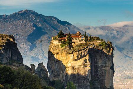 Klooster van de Heilige Drie-eenheid - Meteora, Griekenland, Europa