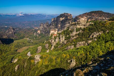 Monasteries Of Meteora - Meteora, Greece, Europe Stock Photo