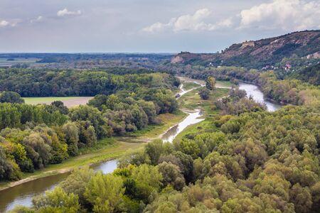 Morava River From Devin Castle - Bratislava, Slovakia, Europe