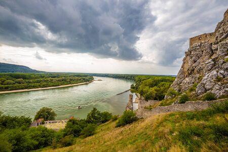 Danube River And The Ruins Of Devin Castle - Bratislava, Slovakia, Europe
