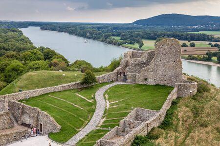 The Ruins Of Devin Castle - Bratislava, Slovakia, Europe
