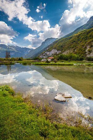 Ali Pasha Springs - Gusinje, Prokletije National Park, Montenegro, Europe 写真素材