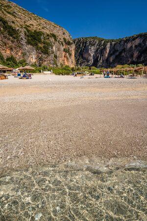 Gjipe Beach - Himare, Vlore, Albania, Europe