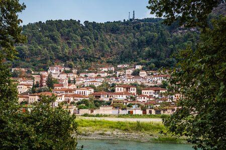 Berat City And Osum River - Berat, Albania, Europe