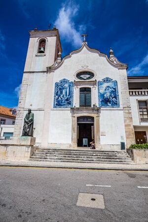 Church Of Vera Cruz In Aveiro - Aveiro, Portugal, Europe Stock Photo