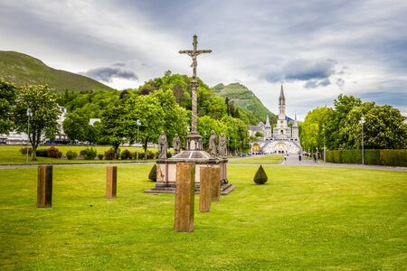 Sanctuary Of Our Lady Of Lourdes - Lourdes, Hautes-Pyrenees, Occitanie, France, Europe