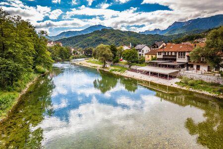 Neretva River In Konjic - Konjic, Bosnia and Herzegovina, Europe