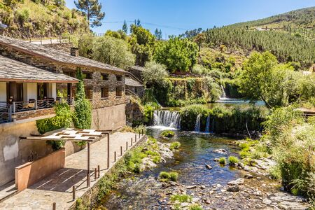 Poco da Broca Waterfall - Barriosa, Sierra Estrella, Portugal, Europe