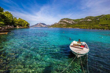 Peljesac Peninsula In Southern Dalmatia, Croatia, Europe
