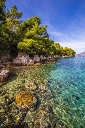 Shore The Peljesac Peninsula In Southern Dalmatia, Croatia, Europe