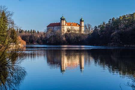 Mnisek Pod Brdy Castle - Central Bohemia, Czech Republic, Europe