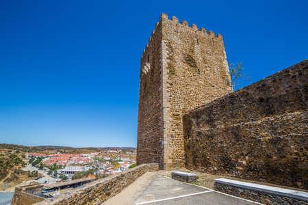 Tower Of Mertola Castle - Mertola, Alentejo, Portugal, Europe