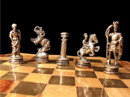 arabe: Algunas piezas de un conjunto de ajedrez �rabe