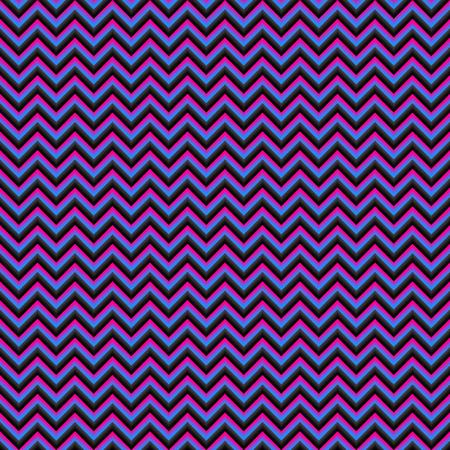 vecteur de motif géométrique sans soudure 3D à chevrons. Zig-zag avec ombre
