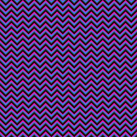 visgraat 3D geometrische naadloze patroon vector. Zigzag met schaduw
