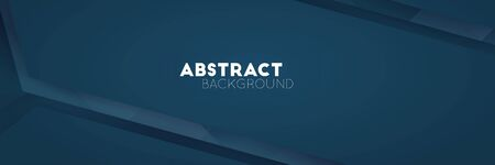 Abstract luxury dark blue soft vector background. Minimal shadow lines design Foto de archivo - 141370133