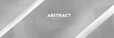 Geometric abstract dark gray glowing shadow light vector background. Vectores