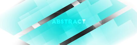 Striped abstract background with geometric pattern. vector illustration. shapes with shadows