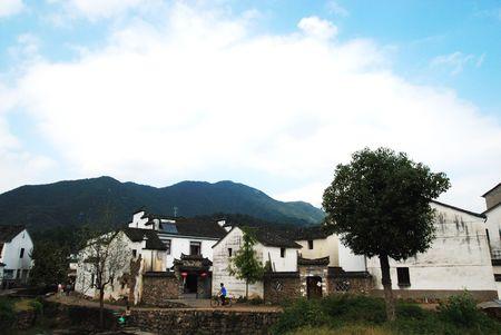 casa vecchia: Cina vecchia casa e collina