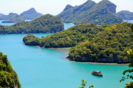 Angtong island samui,thailand Reklamní fotografie - 12041973