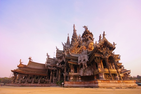 sanctuary of truth pattaya,Thailand