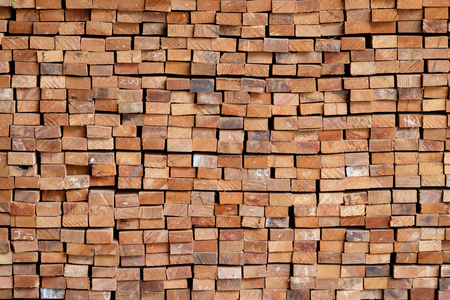 Wood timber construction material for background and texture