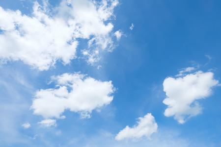 blue sky and cloud Reklamní fotografie