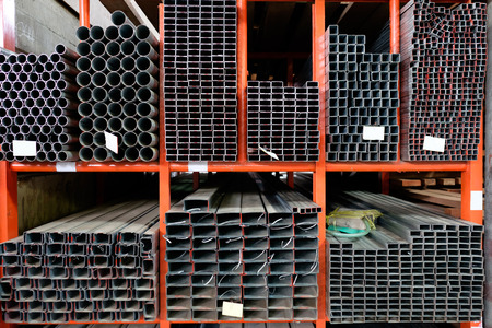 stock warehouse many kind of steel tube