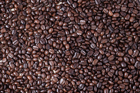 coffe beans, can use as texture or background Reklamní fotografie - 45504425