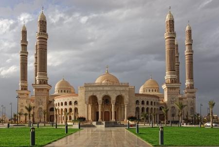 Sanaa, AL Saleh mosque, Yemen