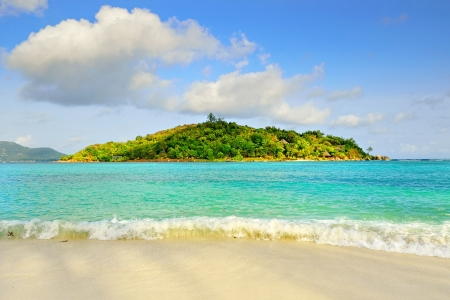 Seychelles islands, Round Island, tropical resort Stock Photo - 13855497