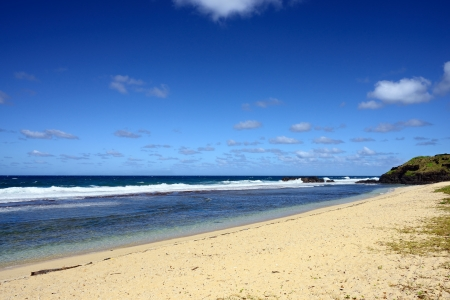 Gris Gris beach on South of Mauritius, Africa photo