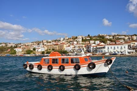 messinia: The town of Pylos  Messinia, Navarino bay, Greece