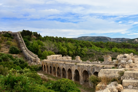 Fortress of Neokastro in Pylos, Messinia, Greece Stock Photo