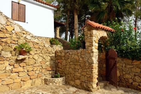 messenia: Typical an old rural farmhouse in Messenia, Greece
