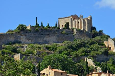 apt: Beautiful Medieval Village of Saint Saturnin Les Apt, Provence, France