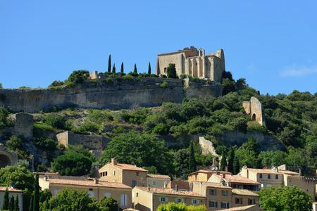 apt: Beautiful Medieval Village of Sainte Saturnin Les Apt, Provence, France